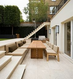 Contemporary Patio by Hill Mitchell Berry Architects