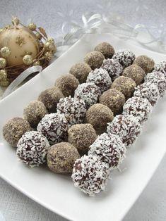 Kasztanki z herbatników Biscuits, Truffles, Christmas Cookies, Almond, Cheesecake, Deserts, Dessert Recipes, Cooking Recipes, Sweets