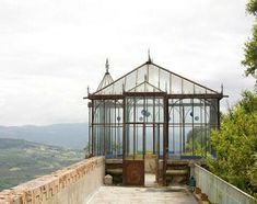 French conservatory #conservatorygreenhouse