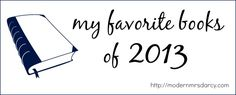 My Favorite Books of 2013