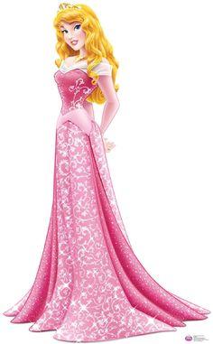 Disney Princess Aurora Cardboard Standup - 5' Tall from BirthdayExpress.com