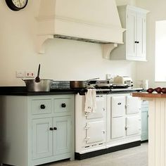 English Kitchen with Aga Stove »    inspired deco