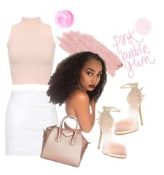 """""""part 2"""" by xmiajohnn ❤ liked on Polyvore featuring WearAll, Topshop, Giuseppe Zanotti, Jane Iredale and Givenchy"""