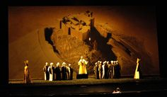 Scene from The Magic Flute directed by Jean-Paul Scarpitta, performed in Montpellier, France, 2007