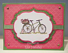 Who doesn't like a preppy bike? by ponygirl40 - Cards and Paper Crafts at Splitcoaststampers