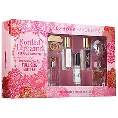 Sephora Favorites - Bottled Dreams Perfume Sampler #sephora