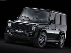 Mercedes G — The Mercedes-Benz G-Class or G-Wagen (as it was called from 1979 to 1994), short for Geländewagen (or cross-country vehicle), is a four-wheel drive vehicle / sport utility vehicle (SUV) produced by Steyr-Puch (now Magna Steyr) in Austria for German automaker Mercedes-Benz