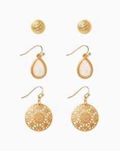 charming charlie | Girly Glam Earring Set | UPC: 410007035101 #charmingcharlie