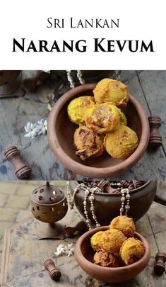 The Sri Lankan Narang Kevum is a sweetened, spiced ball of coconut deep fried to perfection in fragrant coconut oil. This is a Sri Lankan recipe that you simply must try!