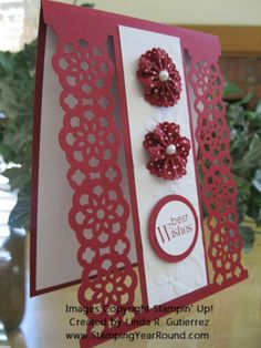 RIBBON PUNCH CARD CHERRY SIDE VIEW