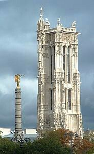 Saint-Jacques Tower - Paris,  France