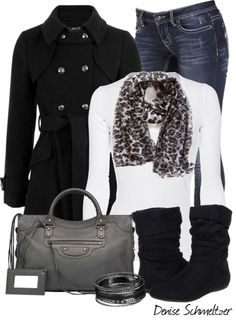 """Leopard Print Scarf"" by denise-schmeltzer on Polyvore"