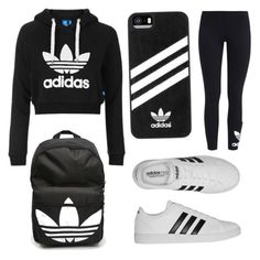"""""""Adidas All out!"""" by millie123kkk ❤ liked on Polyvore featuring interior, interiors, interior design, home, home decor, interior decorating, adidas, Topshop and adidas Originals"""