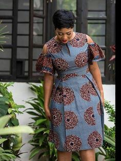 Modern And Trendy Ankara Styles For Beautiful Ladies 2019 By Zahra Delong - 2019 Trends African Fashion Ankara, Latest African Fashion Dresses, African Print Fashion, Africa Fashion, Trendy Ankara Styles, Ankara Dress Styles, Blouse Styles, Short African Dresses, African Print Dresses