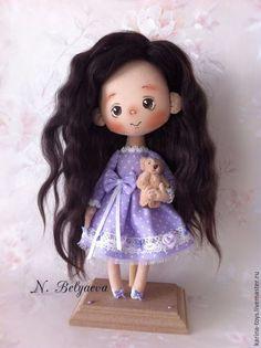 """Купить Малышка """"Маруся"""" - сиреневый, кукла, куклы, ручная работа, куклы ручной работы"""