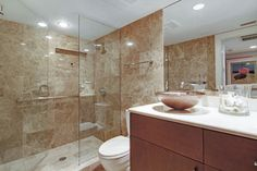 Simonsen Residence - contemporary - bathroom - tampa - Marazul Building Company