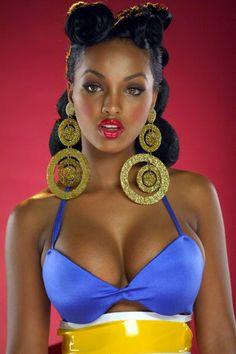 Sexy ethiopian woman