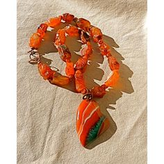 Red Heart Necklace, carnelian necklace statement necklace Mothers Day... ($54) ❤ liked on Polyvore featuring jewelry, necklaces, heart pendant necklace, bib statement necklace, pendant necklace, statement necklaces and agate necklace