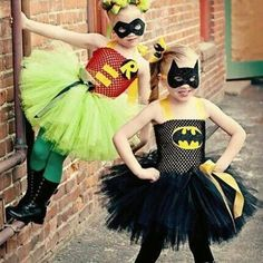 Cute at home halloween outfits for little girls