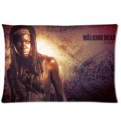 Chetery Popular The Walking Dead Michonne With Sword Printed Best Gifts Decorate Pillowcase Custom Pillowcase Soft Pillow Case Zippered Pillow Case Cover in Roomy Size 20x30(Two side) Fashion Design >>> Quickly view this special deal, click the image : Decorative Pillows