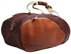 Wilson Leather Tennis Bag. Wilson Tennis Bags 287e1caf1acd5
