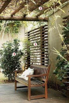 """E outro da série """"Inspirações"""" (Veja aqui inspirações para o seu banheiro): Agora as varandas e jardins com detalhes interessantes para qualquer cantinho ou """"cantão"""" verde. Como sempre, observem com atenção..."""