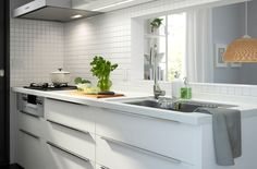 This kitchen has been developed with Japanese kitchens firmly in mind