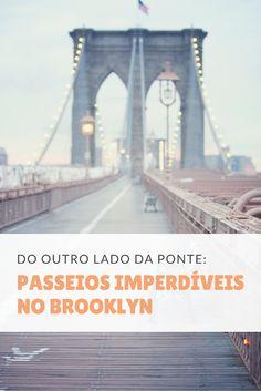 Do outro lado do East River, encontra-se muito mais do que uma vista incrível para Manhattan. O Brooklyn possui parques, museus e restaurantes que desvendam um lado pouco conhecido de Nova York #brooklyn #newyork #nyc #eastriver #manhattan #viagem
