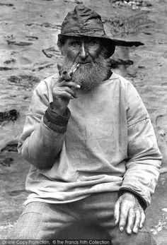 Port Isaac, A Cornish Fisherman 1896, from Francis Frith