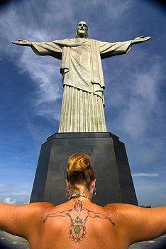 Brazil - Rio de Janeiro - Statue of Christ the Redeemer Christ The Redeemer, Large Art, Statue Of Liberty, Christianity, Brazil, Beast, National Parks, November, Spirituality