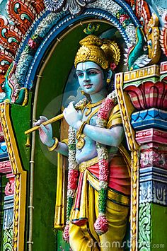 Photo about Indian god taken off the facade of a Hindu Temple. Image of indian, india, religion - 2174400 Shiva Art, Hindu Art, Krishna Art, Krishna Images, Lord Krishna, Temple India, Hindu Temple, Lord Vishnu Wallpapers, Spiritual Images