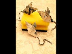 Maus falten - Geld falten - Geldgeschenk - Origami Geschenke - YouTube