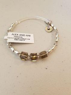 Alex And Ani Swarovski Crystal And Metal Beaded Bracelet  #ALEXANDANI #Beaded