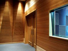 WoodTrends perforated Wall Sound Panels | Acoustical Solutions, Inc.