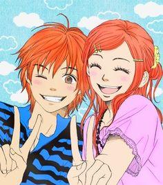 anime, lovely complex, and Risa image Anime Best Friends, Boy And Girl Best Friends, Friend Anime, Boy Or Girl, Anime Love, Top Anime, Awesome Anime, Fanart Manga, Manga Anime