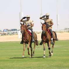 Juma DJM and salsabrii 06-03-14. 2nd CSIM Military World Endurance Championship-Dubai. Photo: a_alghandi
