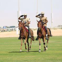 Juma DJM and salsabrii 06-03-14. 2nd CSIM Military World Endurance Championship-Dubai. Photo: a_alghandi