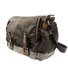 best waxed canvas messenger bags with pigskin.