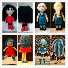 Here are a few of the dolls I have made