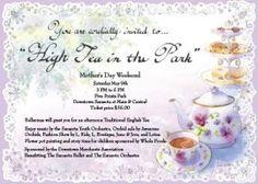 High Tea in the Park | Jessica Willett