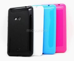 Anti-slid Soft Rubber TPU Gel Case Cover Skin Back For Nokia Lumia 625