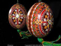 Ukrainian Easter Egg Pysanky 03-200  from the Lviv Region on AllThingsUkrainian.com