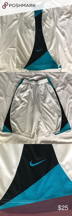 Nike Basketball Athletic shorts Men size medium Nike Basketball Athletic shorts Men size medium. A couple of very small picks. See pictures. Great condition. Nike Shorts Athletic