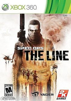 Spec Ops The Line Xbox 360 Brand New Sealed