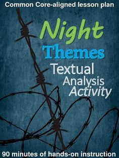 The novel night essay elie