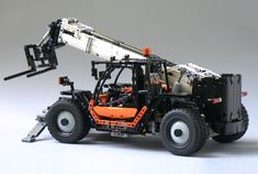 Lego Technic RC Telehandler Lego Technic RC Telehandler The post Lego Technic RC Telehandler appeared first on Presagme. Lego Robot, Lego Moc, Lego Duplo, Lego Technic, Technique Lego, Lego Candy, Lego Disney Princess, Cool Lego, Awesome Lego