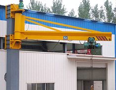 quality jib cranes with different lifting capacities Commercial Kitchen Design, Cranes For Sale, Crane Lift, Tool Room, Gantry Crane, Stage Set Design, Metal Tools, Amazing Buildings, Homemade Tools