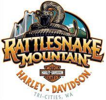 Rattlesnake Mountain Harley-Davidson  3305 W 19th Ave.  Kennewick, WA  99338  888-228-4670    Click the logo to view bike inventory