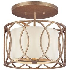 Troy Lighting Sausalito 3-light Semi-flush ($282) ❤ liked on Polyvore featuring home, lighting, ceiling lights, gold, semi flush ceiling lights, alabaster lighting, soft white lights, warm white lights and semi flush mount lighting