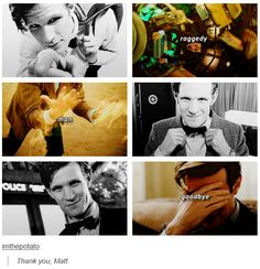 MISS HIM. SO MUCH. JUST SO MUCH.<<I LOVE YOU MATT SMITH YOUR MY FAVERIOTE DOCTOR